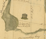 Preble property, Abagadasett Point (Bowdoinham, Me.), 1768, Charles Vaughan Papers