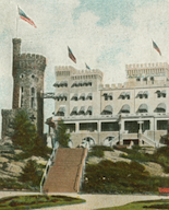 Casco Castle, South Freeport, Postcard (detail), 1906